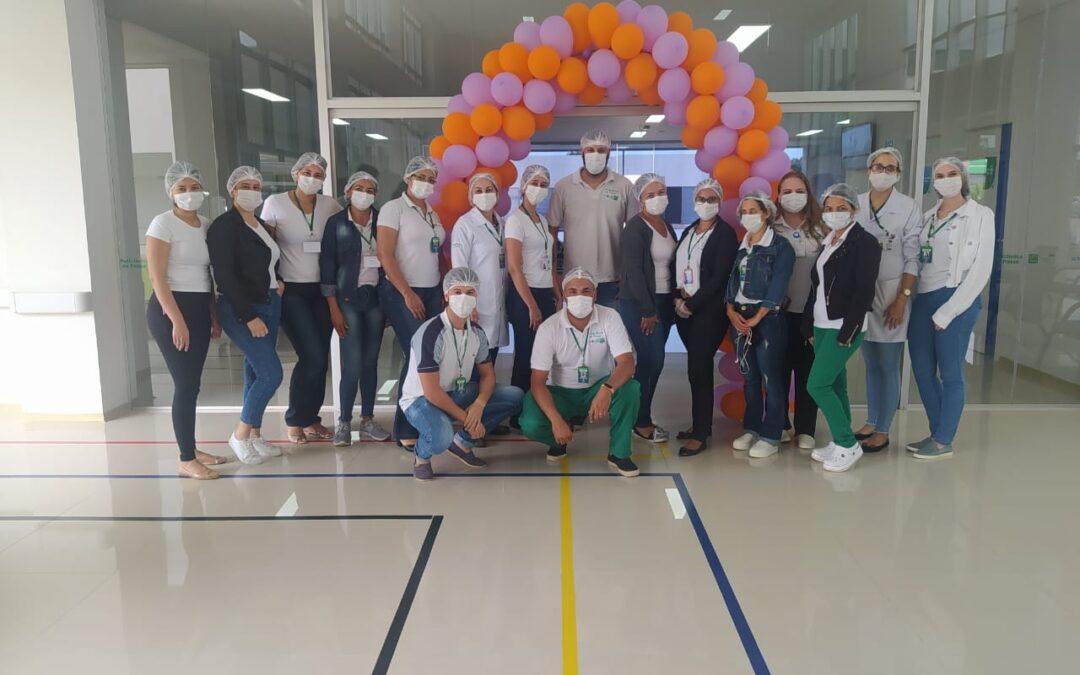 Policlínica de Posse promove debate sobre Fevereiro Roxo e Laranja