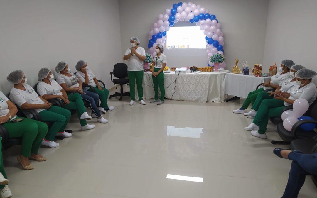 Policlínica de Posse faz homenagem aos trabalhadores da limpeza