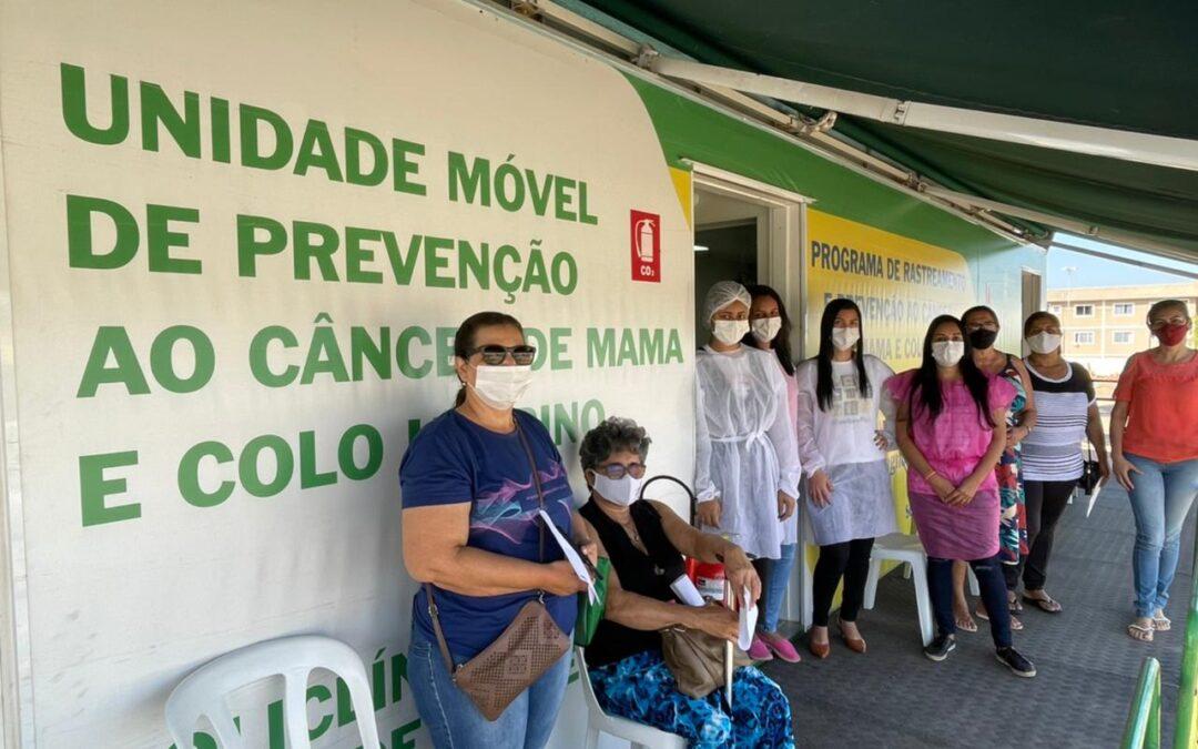 Carreta da Prevenção atende mulheres em Valparaíso